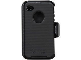 OtterBox Defender Black Solid Case for iPhone 4/4S                                                                                APL2 I4UNI 20 E4OTR