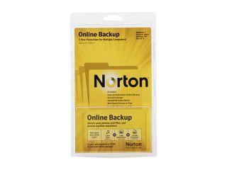 Symantec Norton Online Backup   25GB  Software