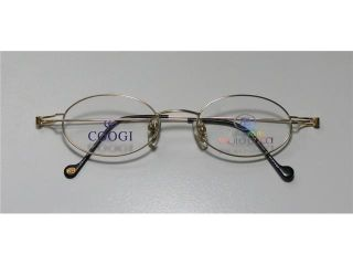 new season & authentic   designer/brand: GOOGI BY PAOLO GUCCI style/model: 7406R size: 48 20 140 material: REAL 21K GOLD PLATED STAINLESS STEEL VISION EYEGLASSES/FRAMES/EYE GLASSES   womens/mens/uni