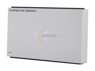 "LaCie Porsche Design P'9221 500GB USB 2.0 2.5"" External Hard Drive 9000126 R"