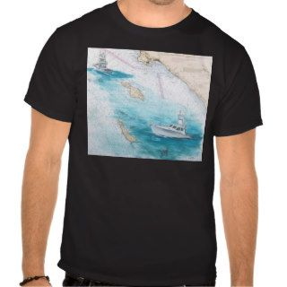 F/V Blue Bill Catalina Island Sport Fishing Boat Tee Shirts