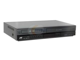 JVC  DR MV99B  DVD/VHS Combo Recorder with Up Conversion and ATSC Tuner