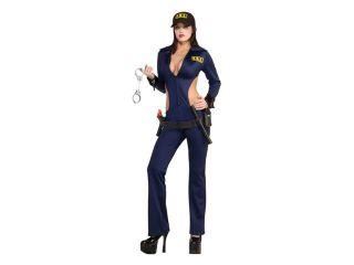 Top Cop FBI Adult Sexy Cop Costume   X Small