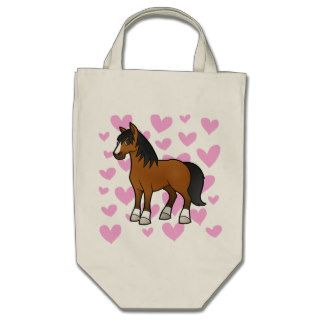Horse Love Tote Bags