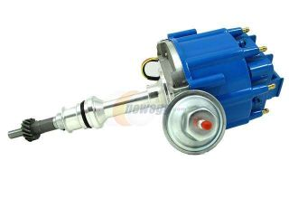 TSP HEI DISTRIBUTOR   FORD 289 302W V8 ENGINES, 50K V COIL, BLUE CAP JM6502BL