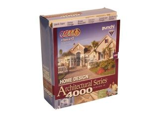 Punch! Software Home Design Architectural Series 4000 V10  Software