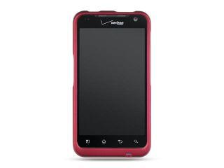 LG Revolution/Esteem VS910 Hot Pink Crystal Rubberized Case