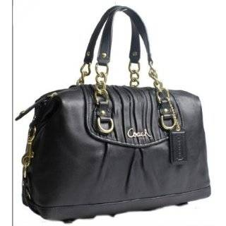 Authentic Coach Gathered Leather Ashley Satchel Convertible Bag 17647