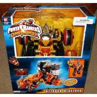 Power Rangers Dino Thunder Mezodon Megazord Electronic Action Figure