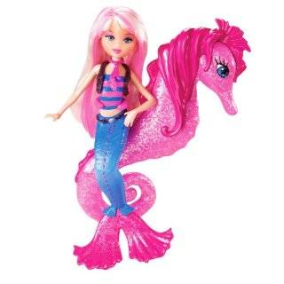 Barbie In A Mermaid Tale Seahorse Stylist Doll   Blue