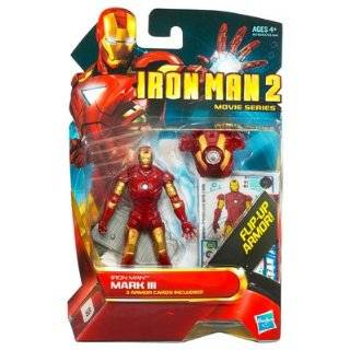 Hasbro Iron Man 2 3.75 Inch Action Figure   Iron Man Mark Iii